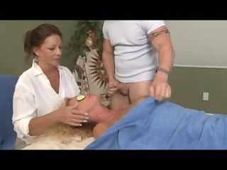 special massage for blond aged