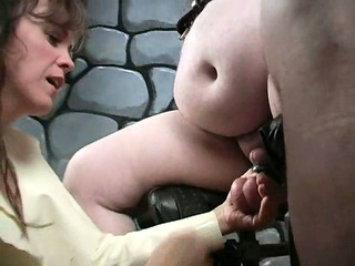 extreme older femdom d like to fuck way-out cbt