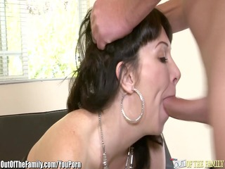 daughter catches mommy getting butt screwed