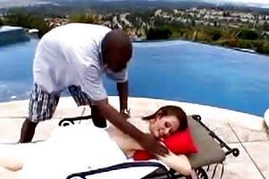 darksome chap gives sensual massage to mature