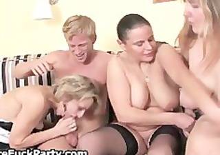 experienced housewives massaging part3