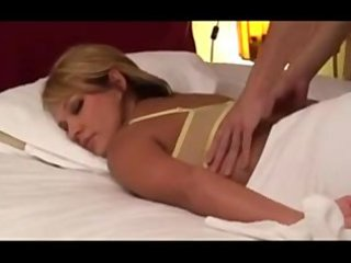 dilettante blond wife massaged by japanese