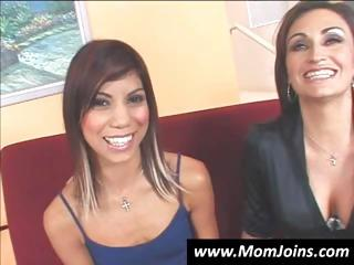 hot mother i and her daughter are stripping down