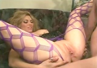 golden-haired anal