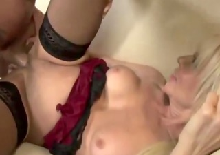 older fucked while daughter rubs clit