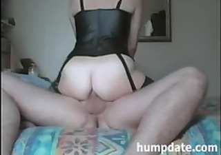 housewife rides hubbys rod with her anal opening