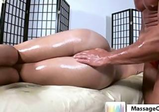 oily tissue massage